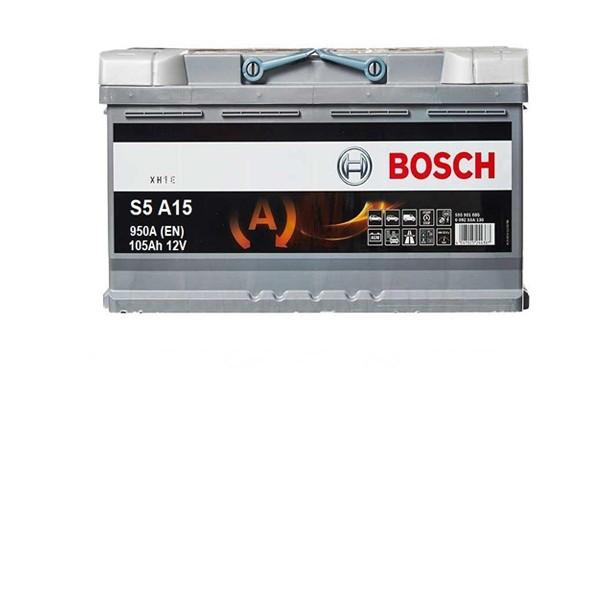 105 Amper START-STOP AGM Bosch Akü