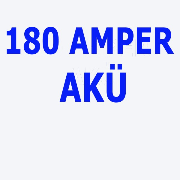 180 Amper YENİ AKÜ