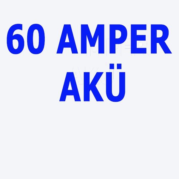 60 Ah Akü