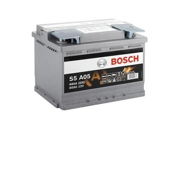60 Amper START-STOP AGM Bosch Akü