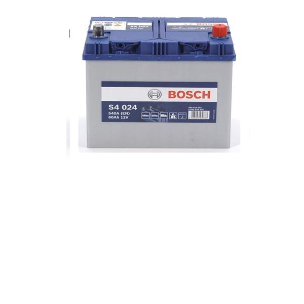 60 Amper Yüksek Bosch Akü
