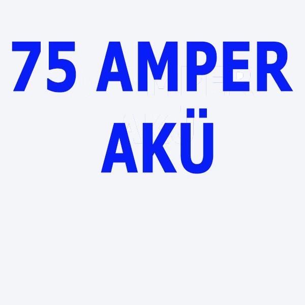 72 Ah Akü