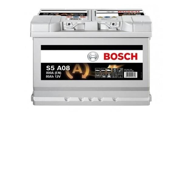 80 Amper START-STOP AGM Bosch Akü